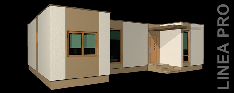 Casas modernas modulares viviendas unifamiliares de dise o construmod - Diseno de viviendas ...